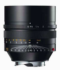 The Leica Noctilux-M ASPH f/0.95 Black