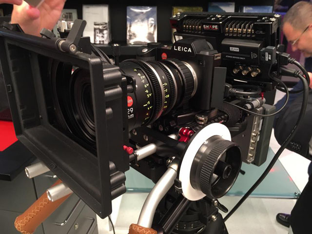 Leica SL 601 with Leica 29mm Cine Summilux-C lens