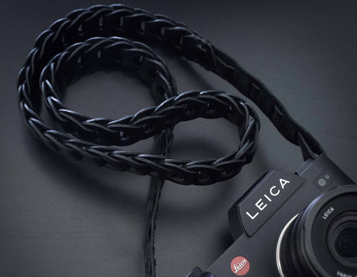 Leica SL 601 with Tie-Her-Up leather Strap