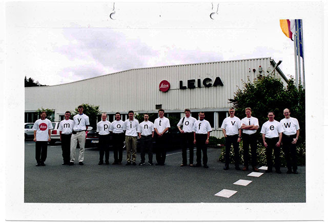 The unattractive Leica Camera AG factory the company was relocated to in the 1980's. At least it pales in comparison with the Leica Campus in Wetzlar, the factory returned to in 2015.