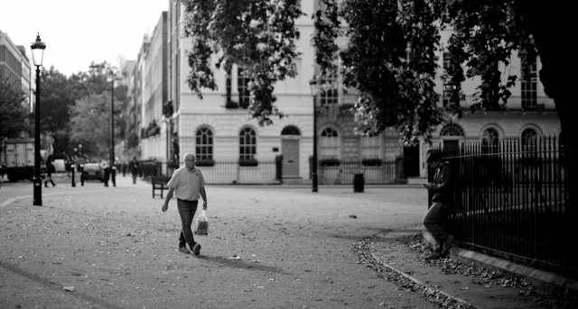 Fitzroy Square in London. Leica M 240 with 50mm Noctilux-M ASPH f/0.95. © 2013-2016 Thorsten Overgaard.