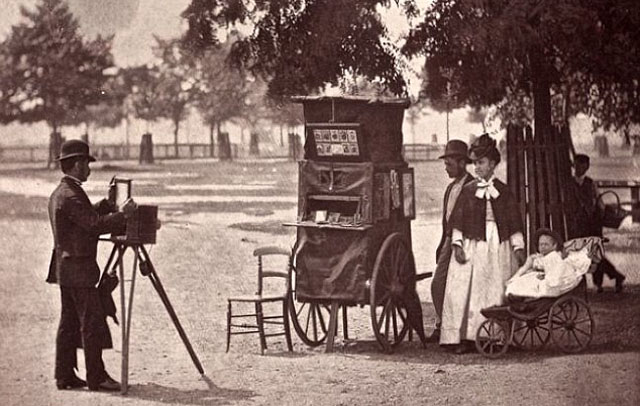 Photography in the late 1800's