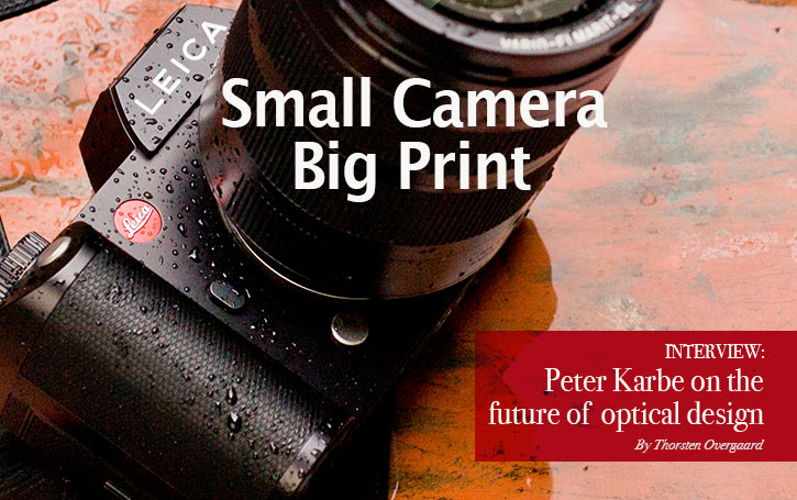 Small Camera, Large Print (and large lenses). Interview with Peter Karbe