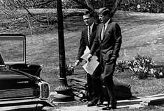 Ted Sorensen and John F. Kennedy