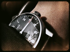 Karl Falk watch for Leica M9 folks