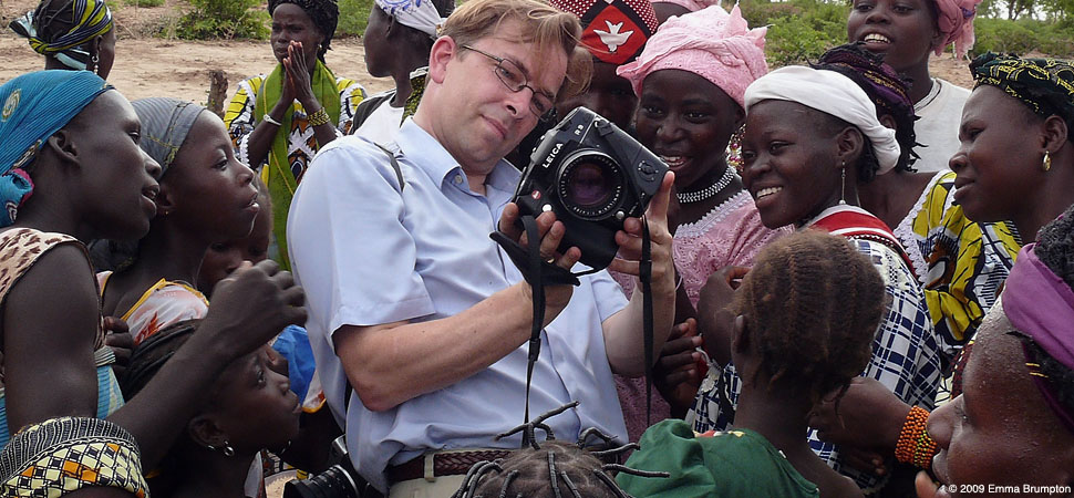 Thorsten Overgaard in Africa with Leica R9/DMR and 80mm Summilux-R f/1.4