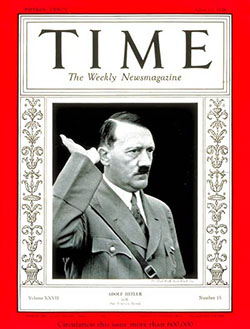1936 cover of TIME